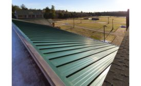 The Garland Company R-Mer Shield structural standing seam roof system