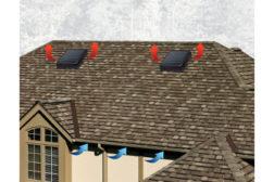 GAF Solar Roof Vents