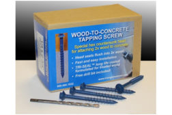Traingle Fastener Wood-to-Concrete Screws