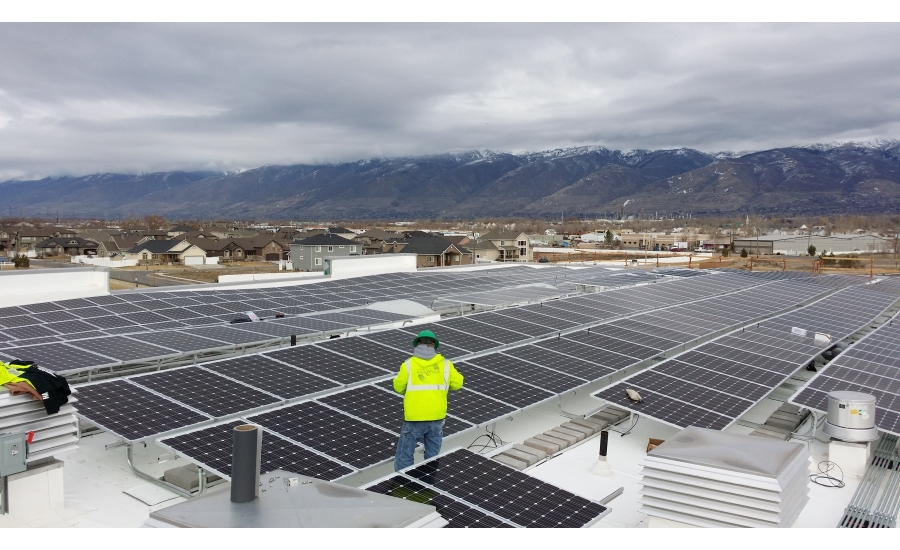 Odyssey Elementary School installs TRA Snow and Sun rooftop solar system