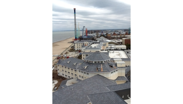 Round Two Cedar Point S Historic Hotel Breakers Undergoes