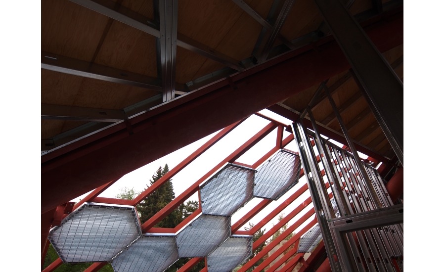 Denver Botanic Gardens Cement Composite Panels Form Roof