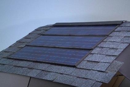 Solar Roofing System feature