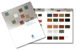 Architectural Color Chart