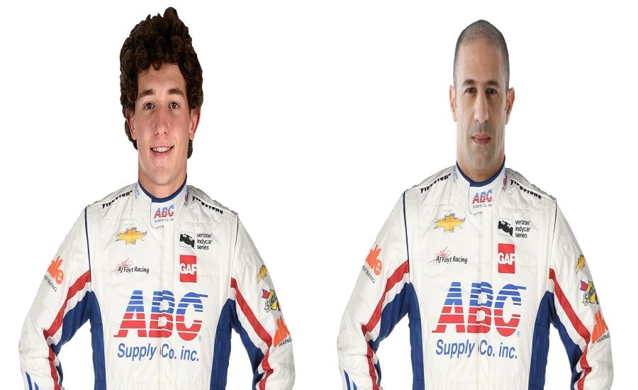 ABC Supply Racing Team of Kanaan and Leist to Host ...  Kanaan Construction Inc