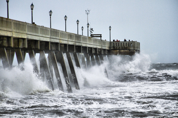 Hurricane Florence CoreLogic Shot