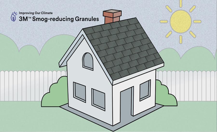 3M Smog-reducing Granules