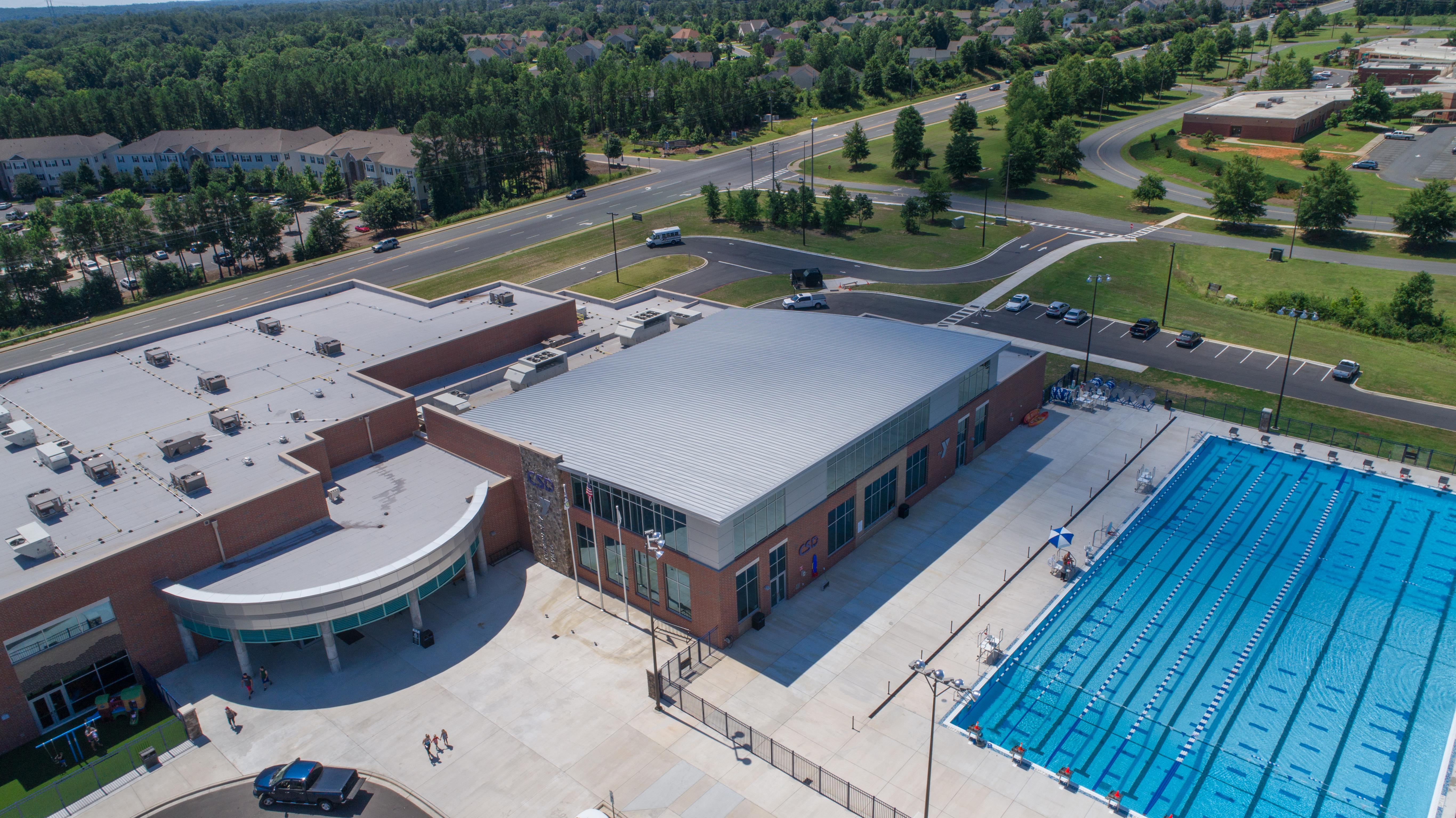 Clover School District YMCA natatorium