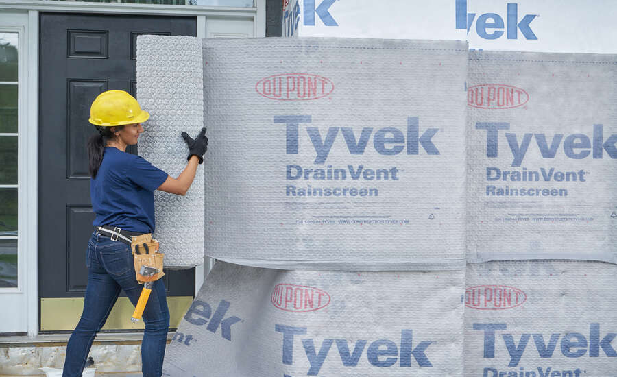 DuPont Tyvek DrainVent Rainscreen