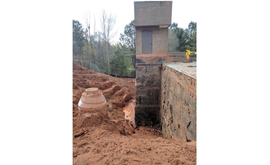 Roofing Underground at the Harris Psychiatric Hospital in