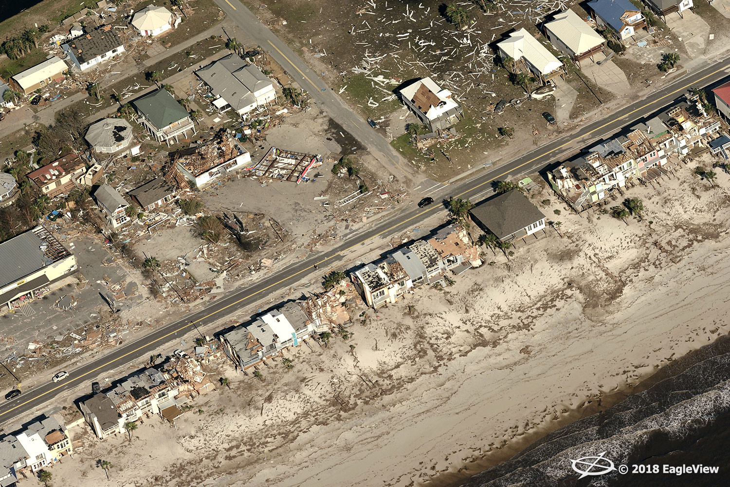 Eagle View - Hurricane Michael 1
