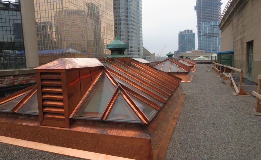 Copper - Union Station Toronto