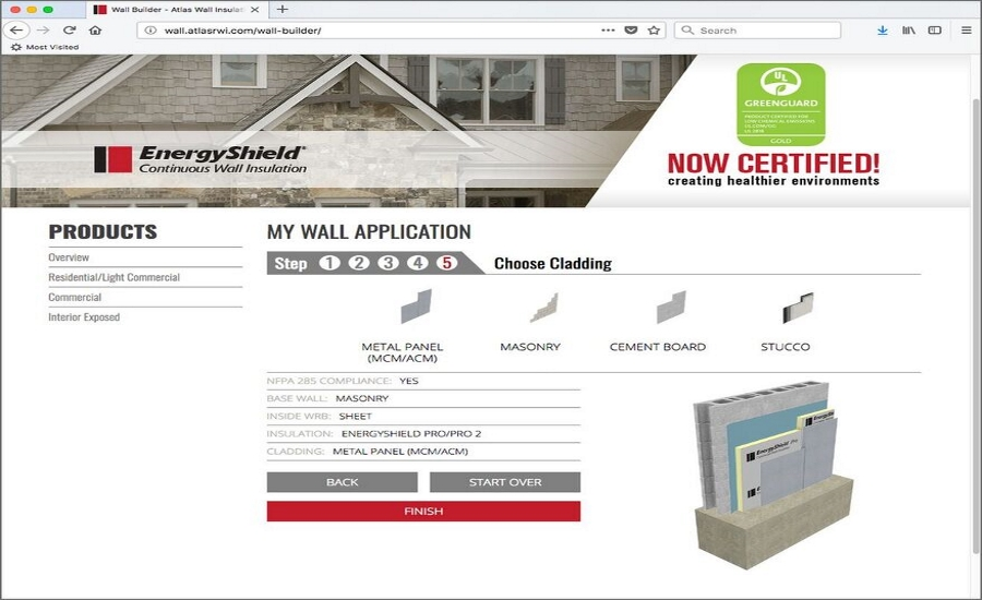 Atlas Introduces Free Online Wall Builder Tool 2018 04 30 Roofing Contractor