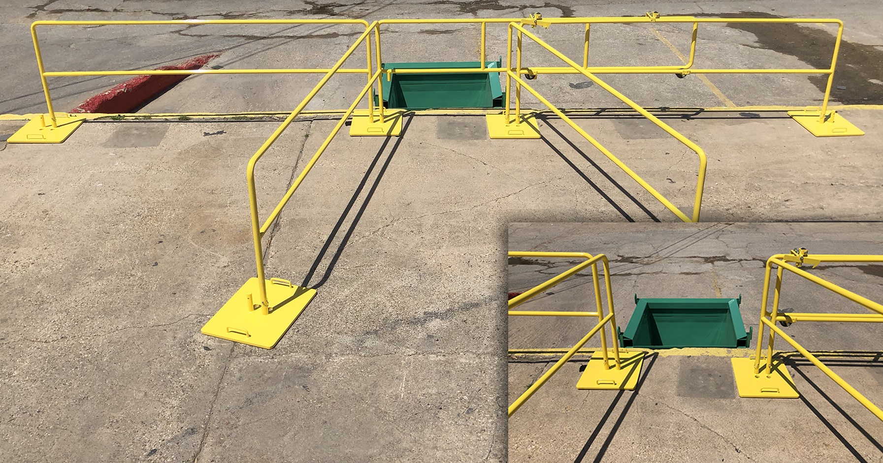 SafePro Perimeter Rail Chute Guard