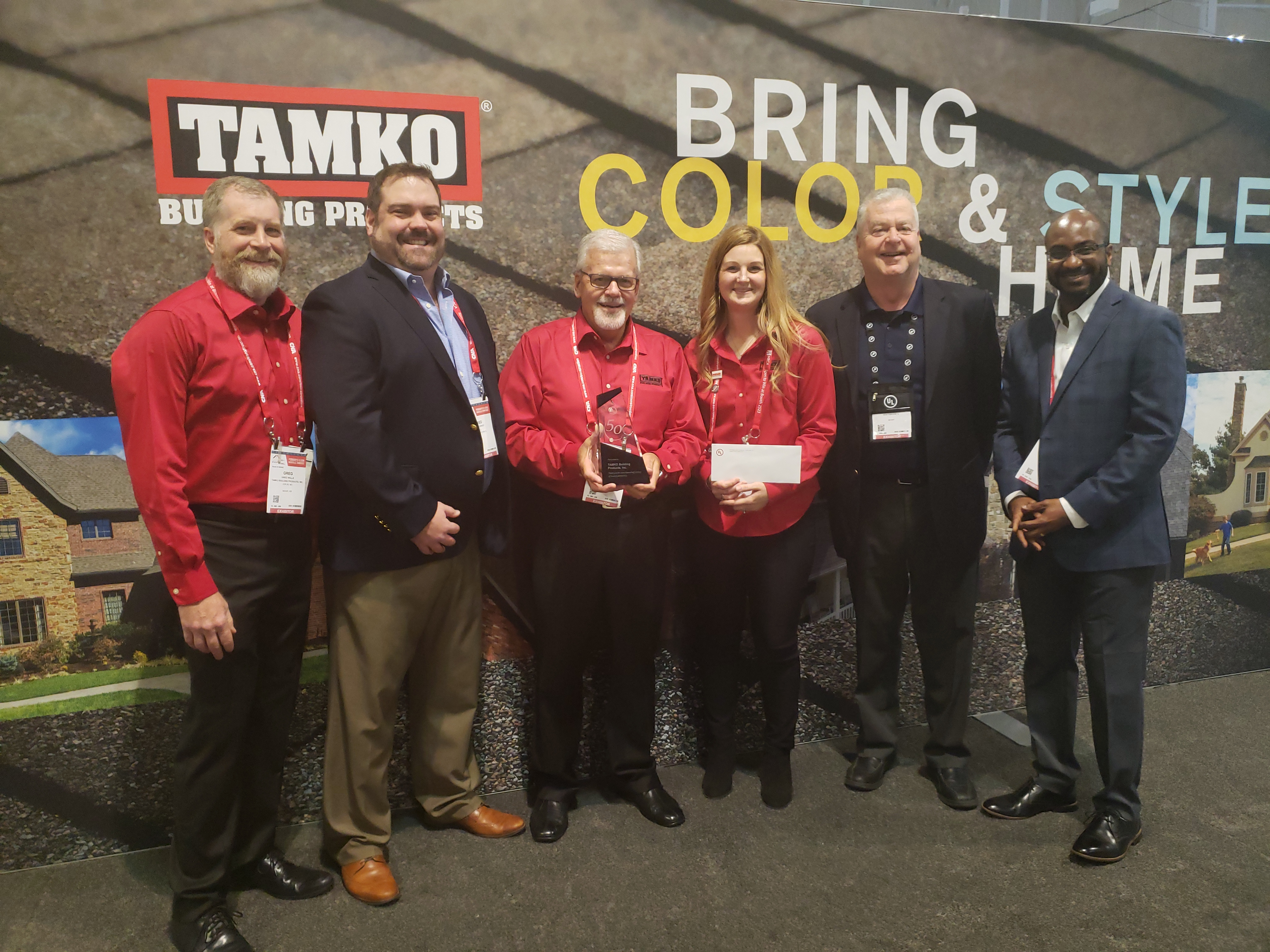 Ul Recognizes Tamko For More Than 50 Years Of Safety