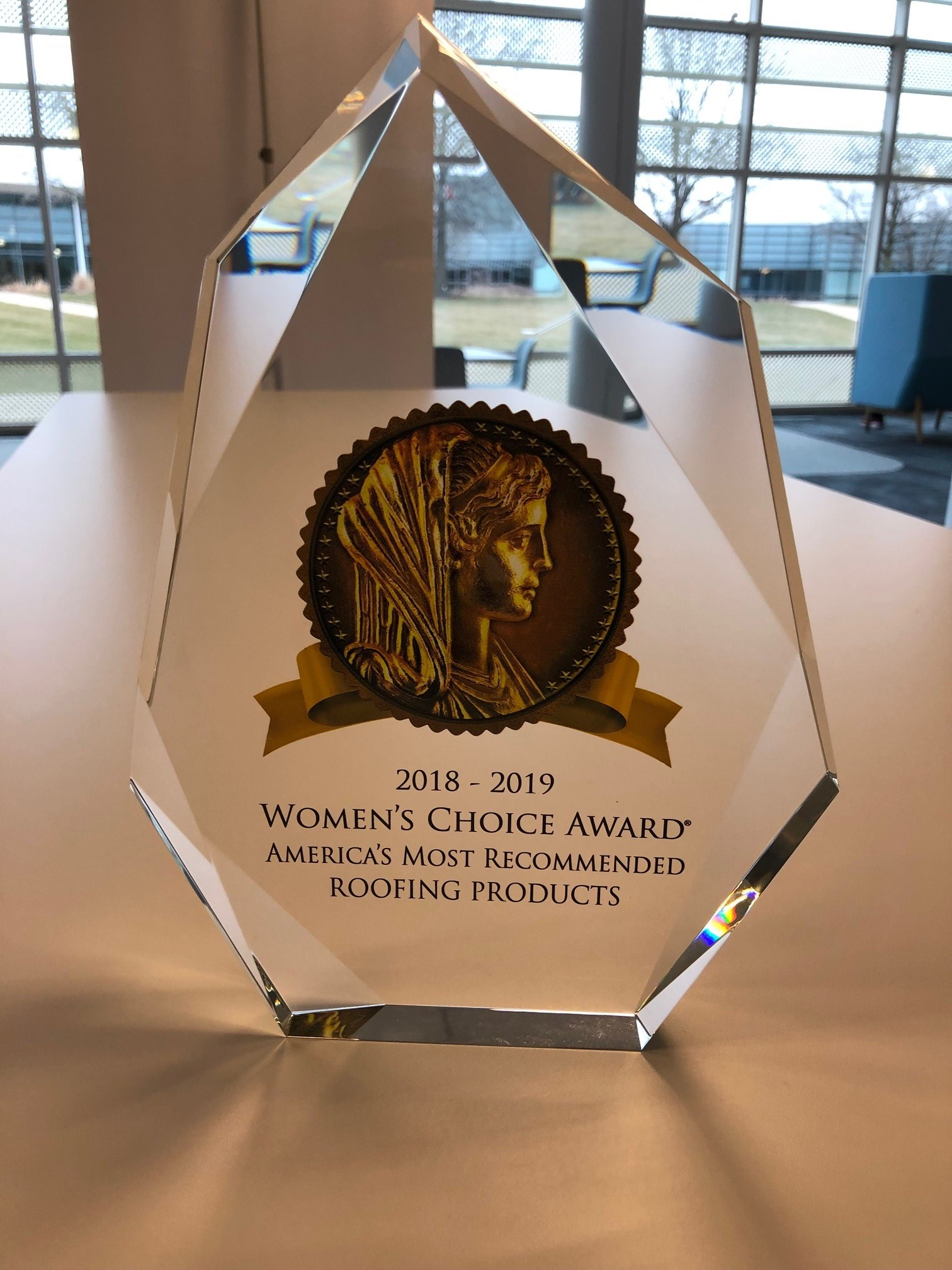 Owens Corning Women's Award 2019