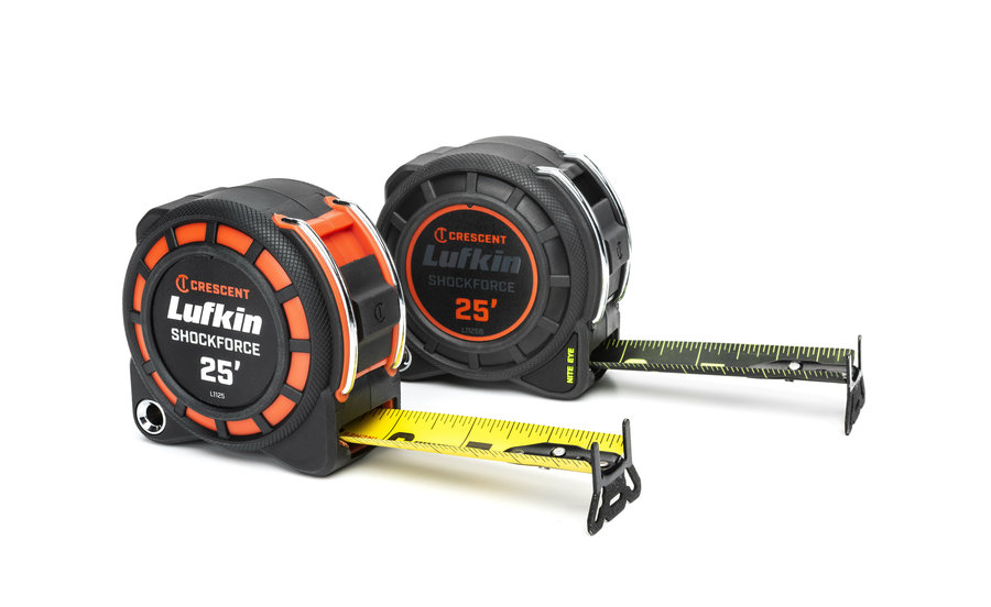 Crescent Lufkin Shockforce and Nite Eye Tape Measures Released