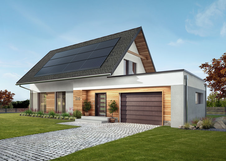 GAF Energy Solar Roof eNews728
