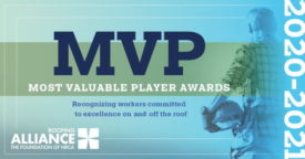 Roofing Alliance 2021 MVP Awards