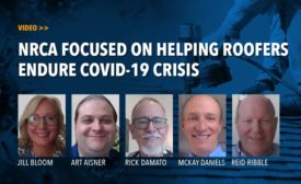 VIDEO: NRCA Focused on Helping Roofers Endure COVID-19 Crisis