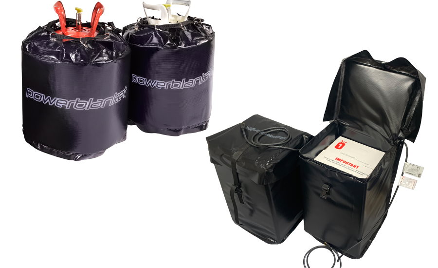 Powerblanket Heaters Available for OlyBond500 Canisters
