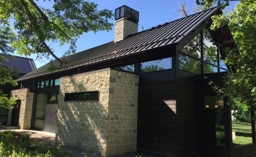 S-5!® ColorGard® on a standing seam metal roof and the S-5-S clamp