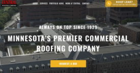 central roofing website
