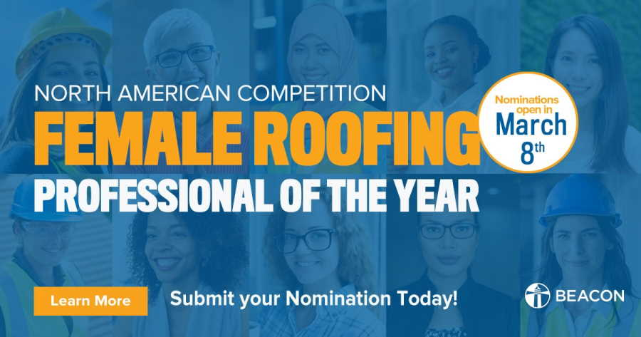 Beacon Female Roofing Professional Contest
