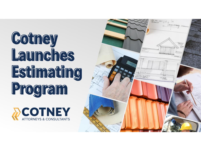 Cotney Estimating Training Program