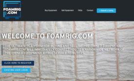 FoamRig website