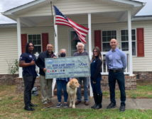 Monarch Roofing Roofs for Troops 2021