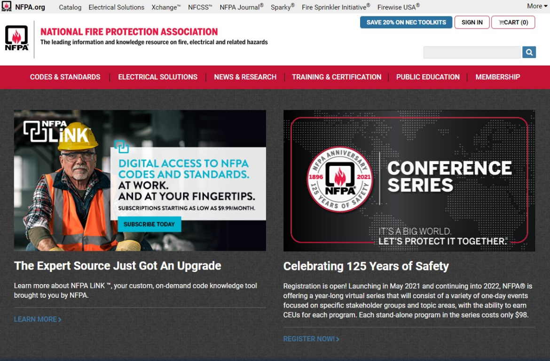 NFPA-website