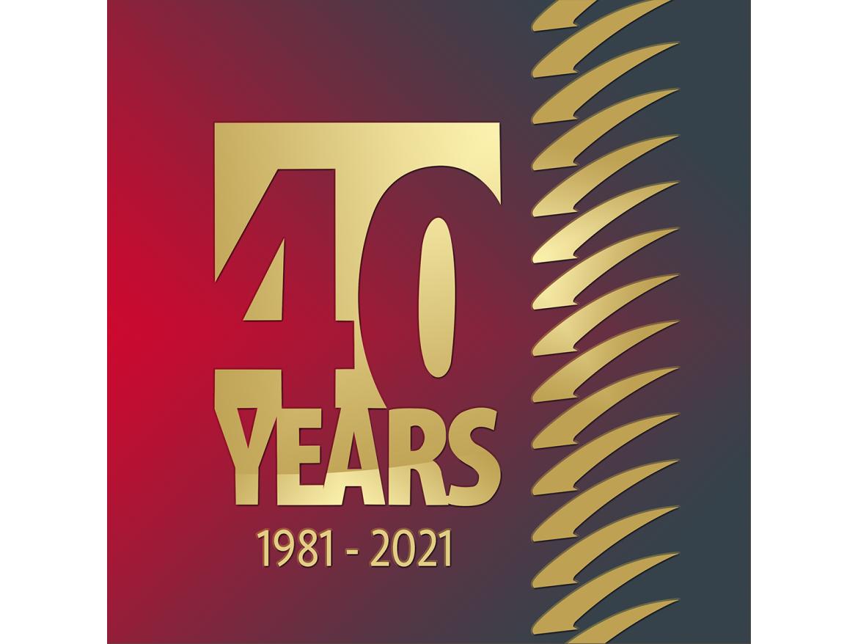 OMG 40 Yr Logo