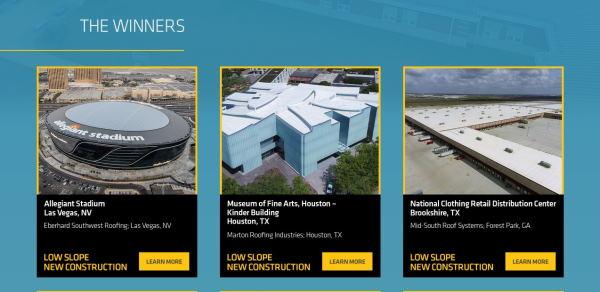 Sika 2020 Winner Website