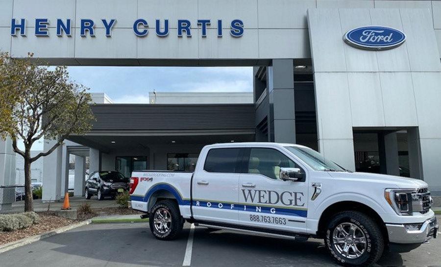 wedge-roofing-hybrid-vehicle
