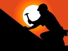 roofer-illustration-sunset