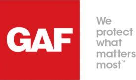 GAF logo tagline