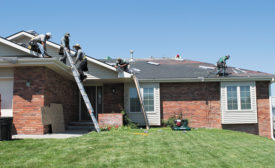 roofing contractor hot weather