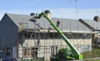 Roofing Safety Scaffold Fall