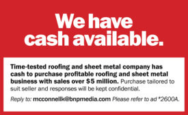 We have cash available.