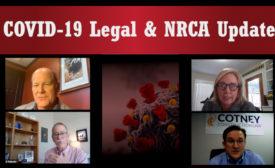 COVID 19 NRCA Legal Update