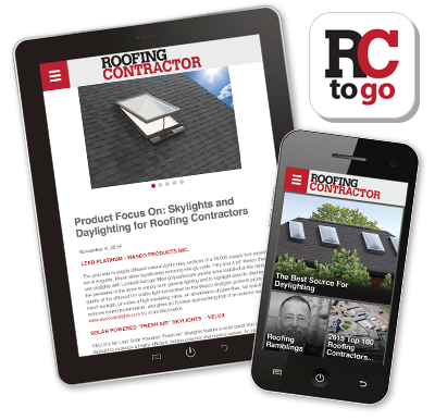 iPad, IPhone, Roofing contractor industry app