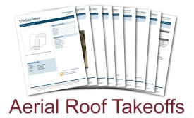 Aerial Roof Takeoffs