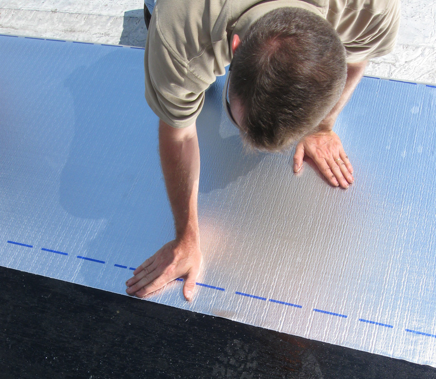 Peel & Seal® Low Slope Roofing Membrane