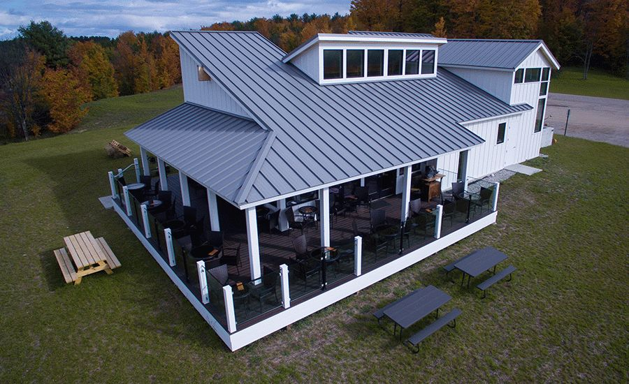 EXCEPTIONAL Metals Standing Seam Roof